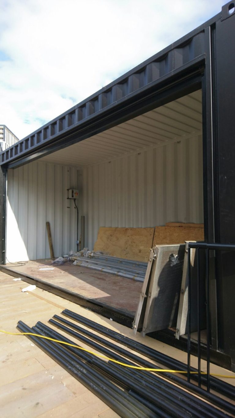 Shipping Container Insulation Spray Foam Mass Foam Systems